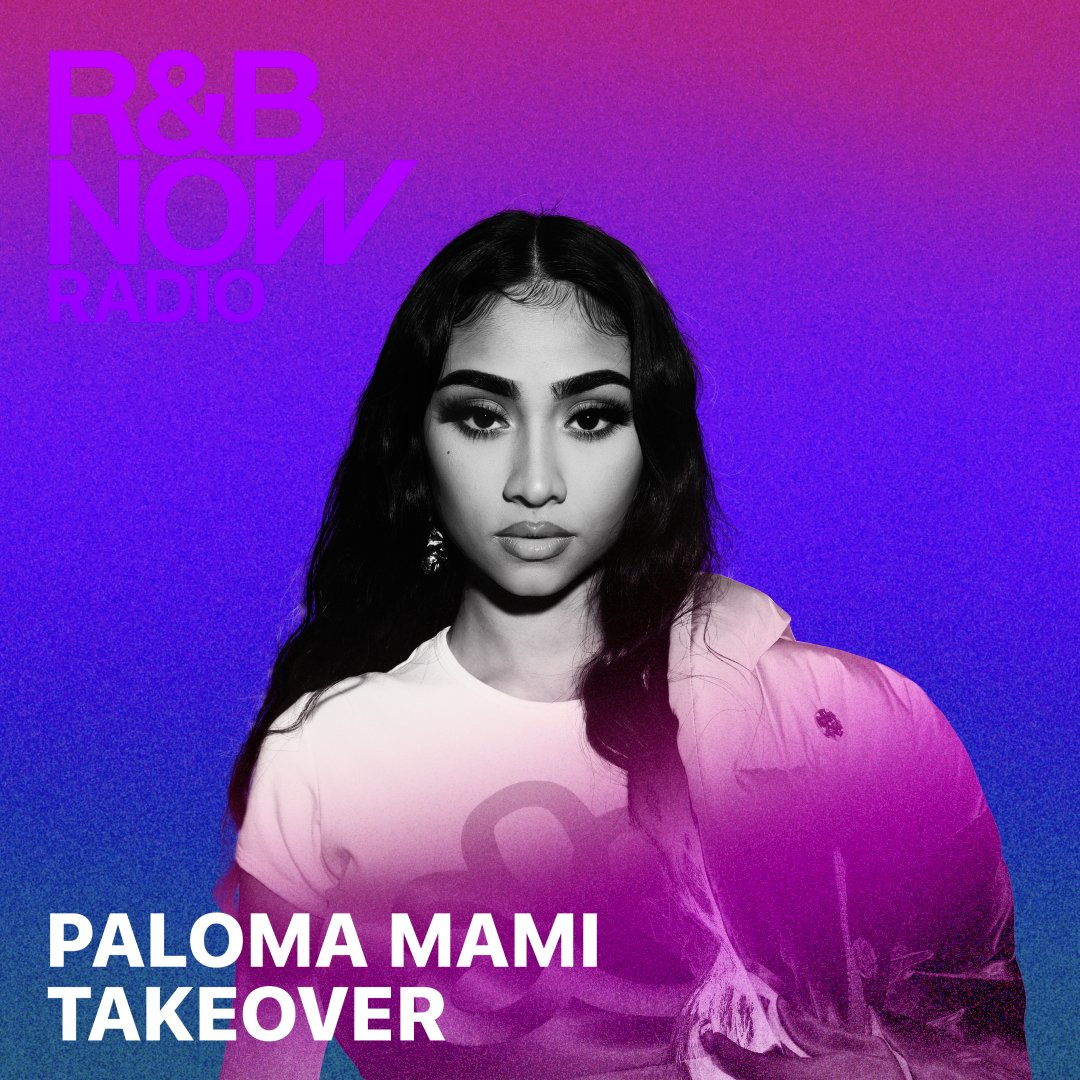 Roll into the weekend with @palomamamicl as she takes over #RnBNow Radio for Latin Heritage Month. 🔥 Tap in: apple.co/RnB-Radio