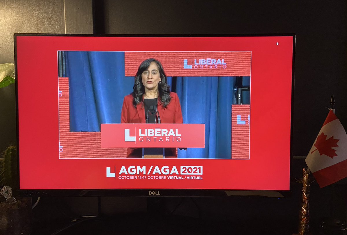 Minister @AnitaOakville remarks at @OntLiberal #OLPAGM tonight:   'The federal government has shipped more than 23-million rapid test kits to Ontario over the course of the past year.' #onpoli