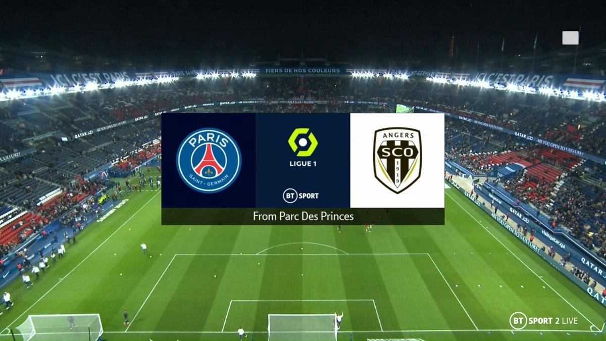 Full match: PSG vs Angers