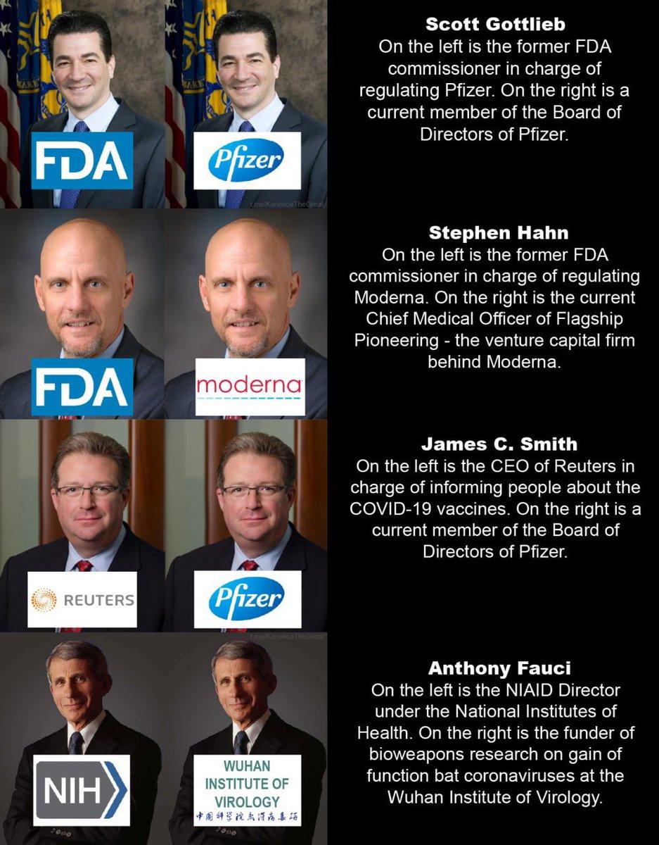 America, we have a problem #RegulatoryCapture #RevolvingDoor #CuresVsProfits