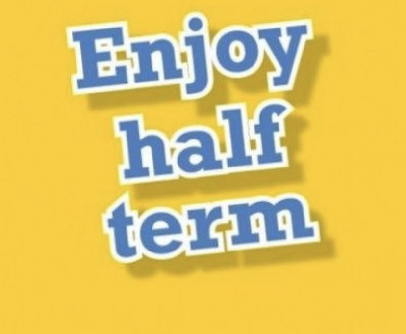 Happy half-term to our students! We look forward to welcoming you back after the break on Tuesday 2nd November.