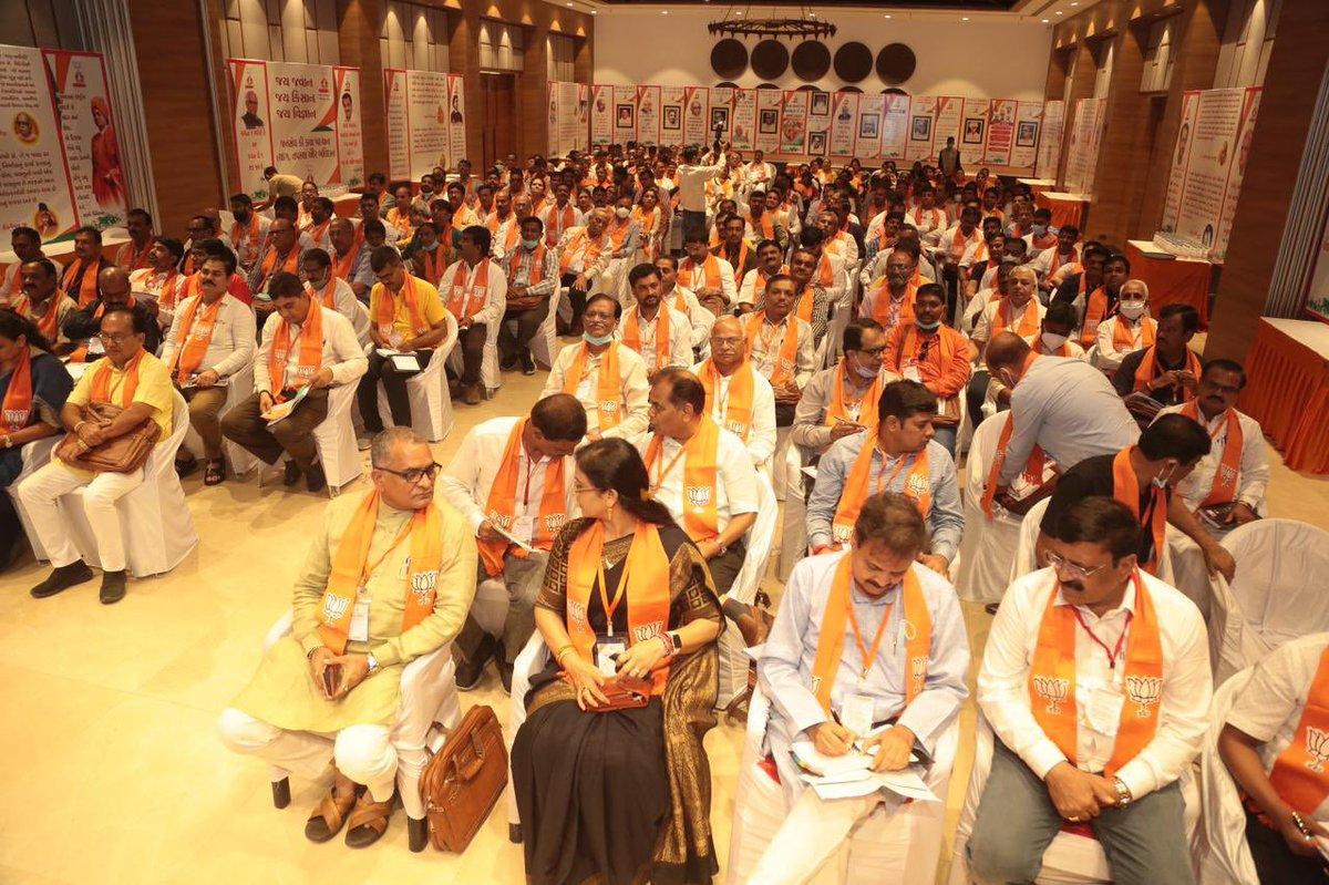 Gujarat BJP launches Prashikshan Shibir drive for party leaders