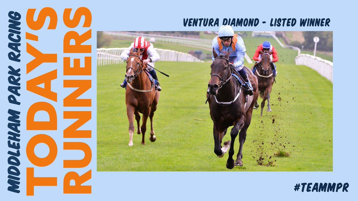 Today we start at @Ascot as VENTURA DIAMOND runs in the Group 1 Champions Sprint for @RichardFahey with MARIE'S DIAMOND in the Balmoral Handicap later on the card.  We also have ADMIRALITY at @CatterickRaces, RED RISK at @MarketRasenRace and GENEVER DRAGON at @stratfordraces.