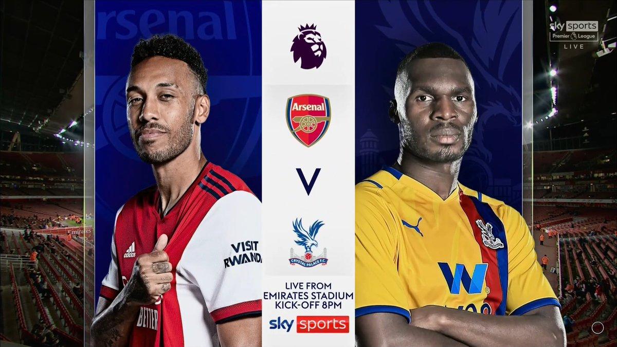 Full match: Arsenal vs Crystal Palace