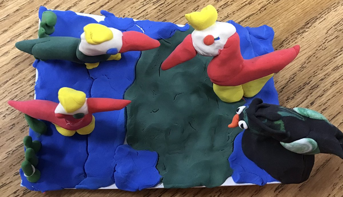 <a target='_blank' href='http://search.twitter.com/search?q=APSarts'><a target='_blank' href='https://twitter.com/hashtag/APSarts?src=hash'>#APSarts</a></a> Loving this third grade birds! 🤗🎨♥️ 🦢 <a target='_blank' href='http://twitter.com/APSCardinalElem'>@APSCardinalElem</a> <a target='_blank' href='http://twitter.com/SimmermanArt'>@SimmermanArt</a> <a target='_blank' href='https://t.co/nhHc93q6FO'>https://t.co/nhHc93q6FO</a>