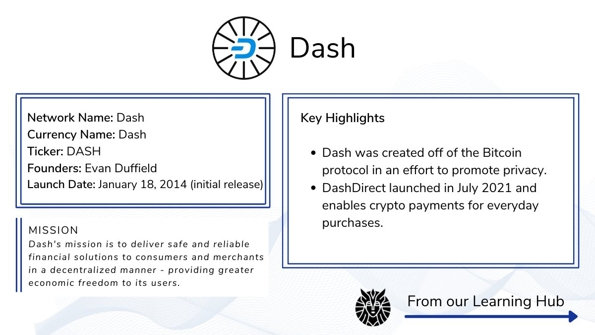Thank you for the awesome post, @ValkyrieFunds. We look forward to sharing in all of the great things we have planned! To learn more, please visit: https://t.co/q3YgJXzr9I.  #DASH @dashinvests #saveforthefuture
