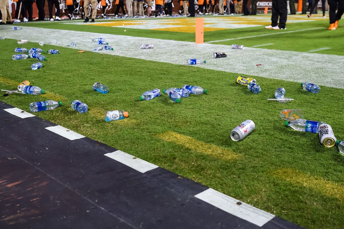 BREAKING: Tennessee has been fined $250,000 by the SEC for fans behavior vs Ole Miss, per @Brett_McMurphy