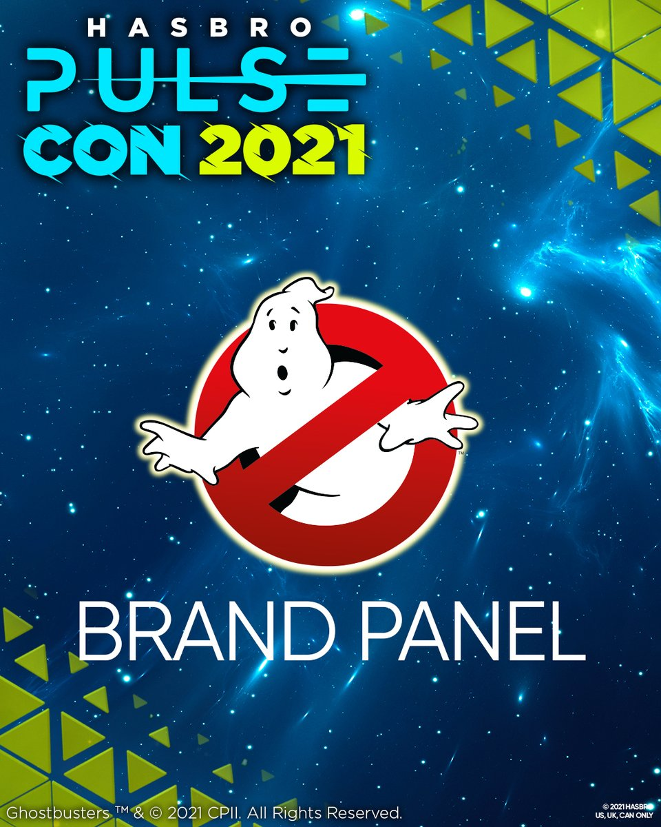 We couldn't be more excited for GHOSTBUSTERS at Hasbro Pulse Con 2021! Although we may not have any new toy reveals, we have plenty of exciting things to share, like an exclusive Ghostbusters: Afterlife clip! Stay tuned to HasbroPulseCon.com for more details!