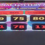Image for the Tweet beginning: Monday Special Results #nla #lotto #lottery