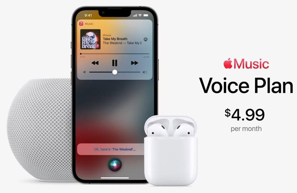 What Apple Music's New $5 Voice Plan Won't Let You Do