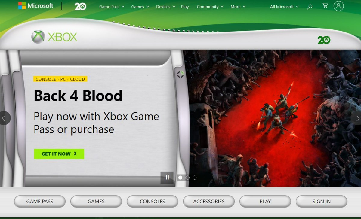 Grab your Wi-Fi adapter and HD-DVD player, it's an Xbox 360 throwback on xbox.com #Xbox20