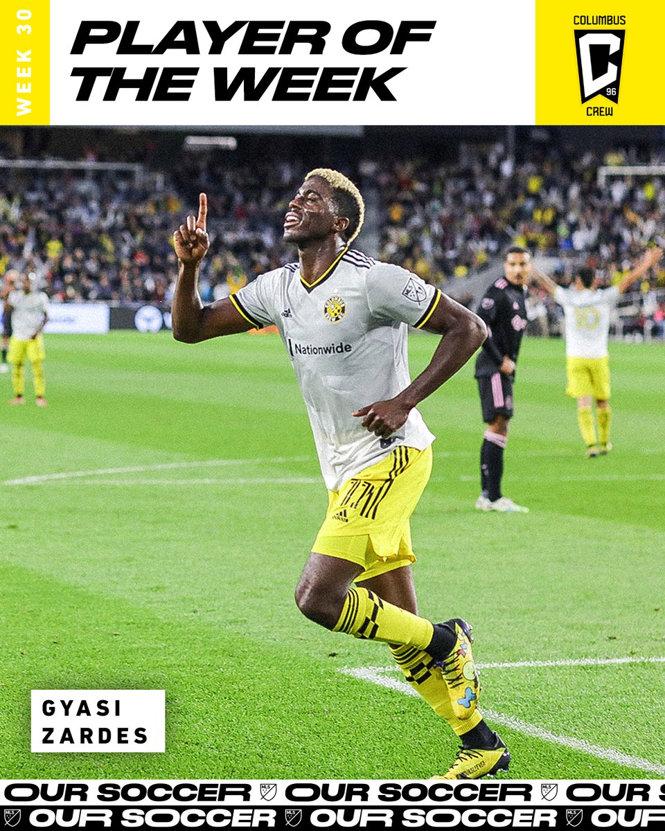 Another brace = Player of the Week again @gyasinho is on a roll. 📈