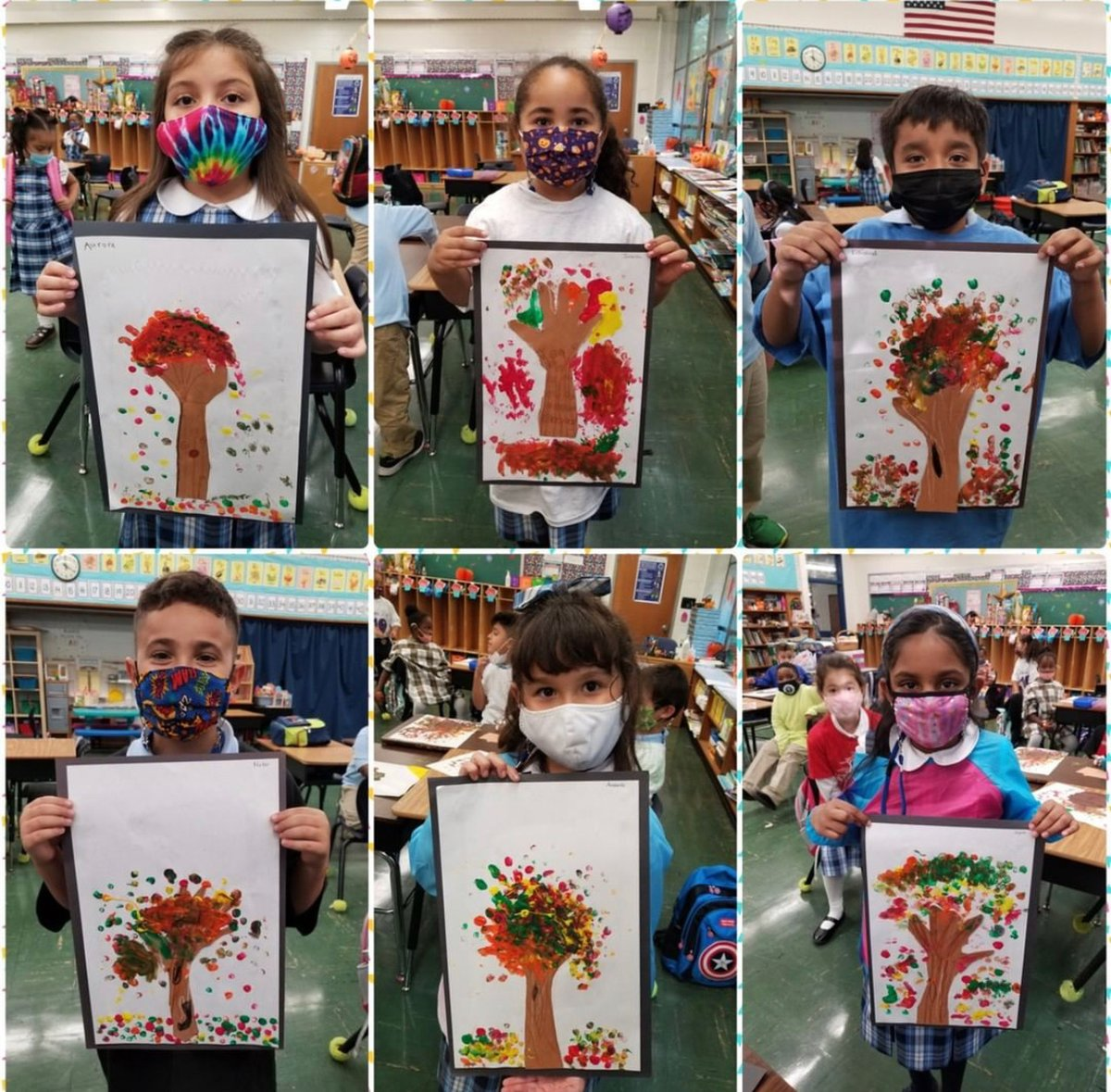 """test Twitter Media - The @AssumptionFFLD Fall Art Club started last week with these adorable """"hand""""-made tree pieces of art! @Diobpt @BptSup #art #artwork #Mondayvibes https://t.co/GWbqbivKXN"""