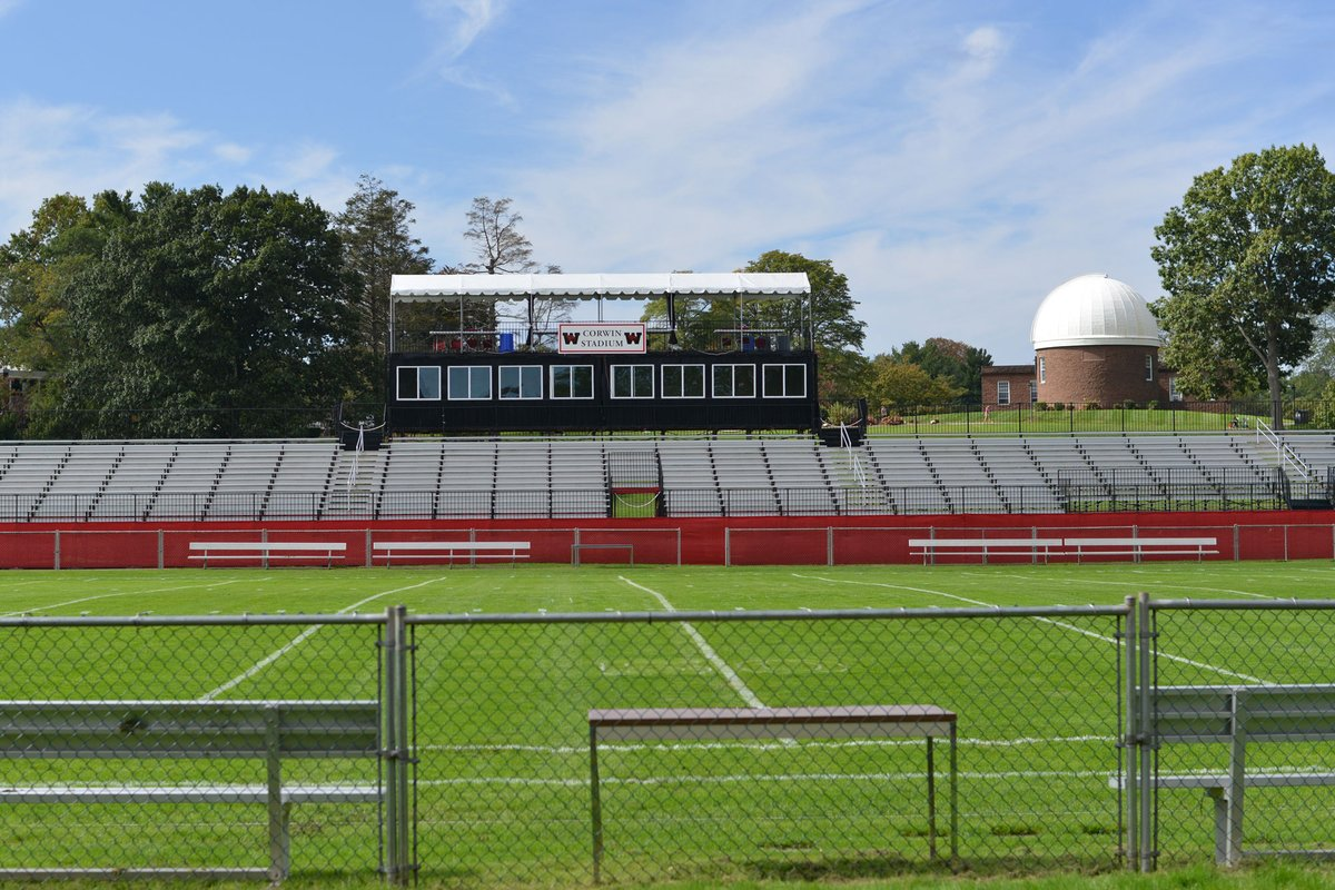 test Twitter Media - Andrus Field has been the site of Wesleyan football since its inception in the 1880s and is the oldest continuously used collegiate football field in the US. Register for Homecoming/Family Weekend to watch the Cardinals take on Amherst at Corwin Stadium: https://t.co/x6wlSFnmLb https://t.co/6eNj8guHw0