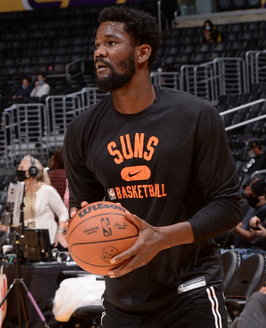 According to @wojespn, DeAndre Ayton is 'very unhappy' with Phoenix