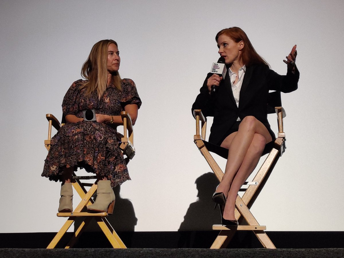 Saw two amazing films over the weekend with two of the best working actresses really excelling at their craft. Highly recommended! @AmandaSeyfried @jes_chastain  #amouthfulofairmovie #TheEyesOfTammyFaye