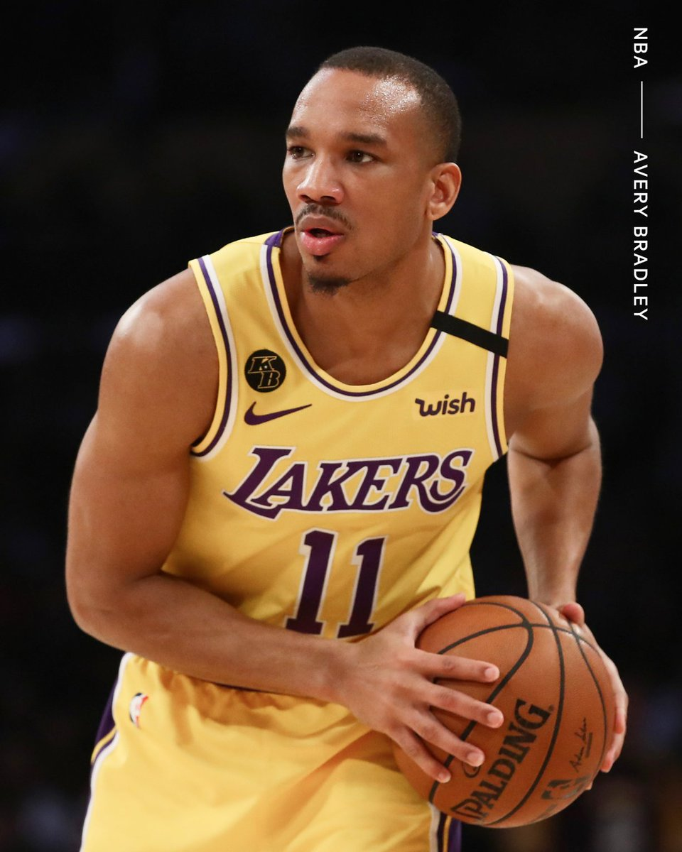 The Lakers have claimed Avery Bradley off waivers, sources tell @ShamsCharania. Bradley was part of the Lakers' 2019-20 championship team and the 11-year veteran returns to fill the open roster spot.
