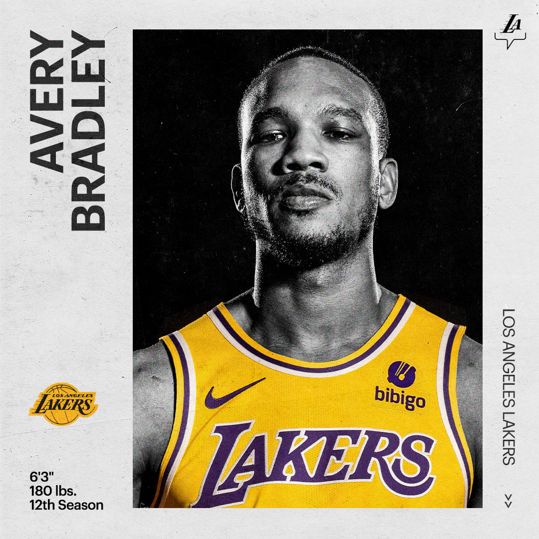 OFFICIAL: Welcome back to the Purple & Gold, Avery 🙌