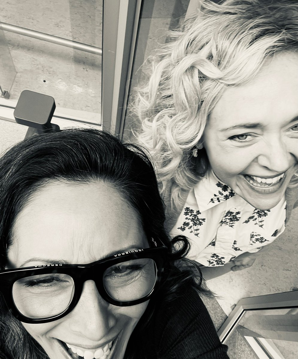 Don't worry, @GoodDoctorABC will be back on @ABCNetwork next week, but until then you can catch up or rewatch #salen stirring the pot @hulu ! For now, here is a #bts distorted selfie taken by my sis @_ChristinaChang while we were cackling over something. 💕