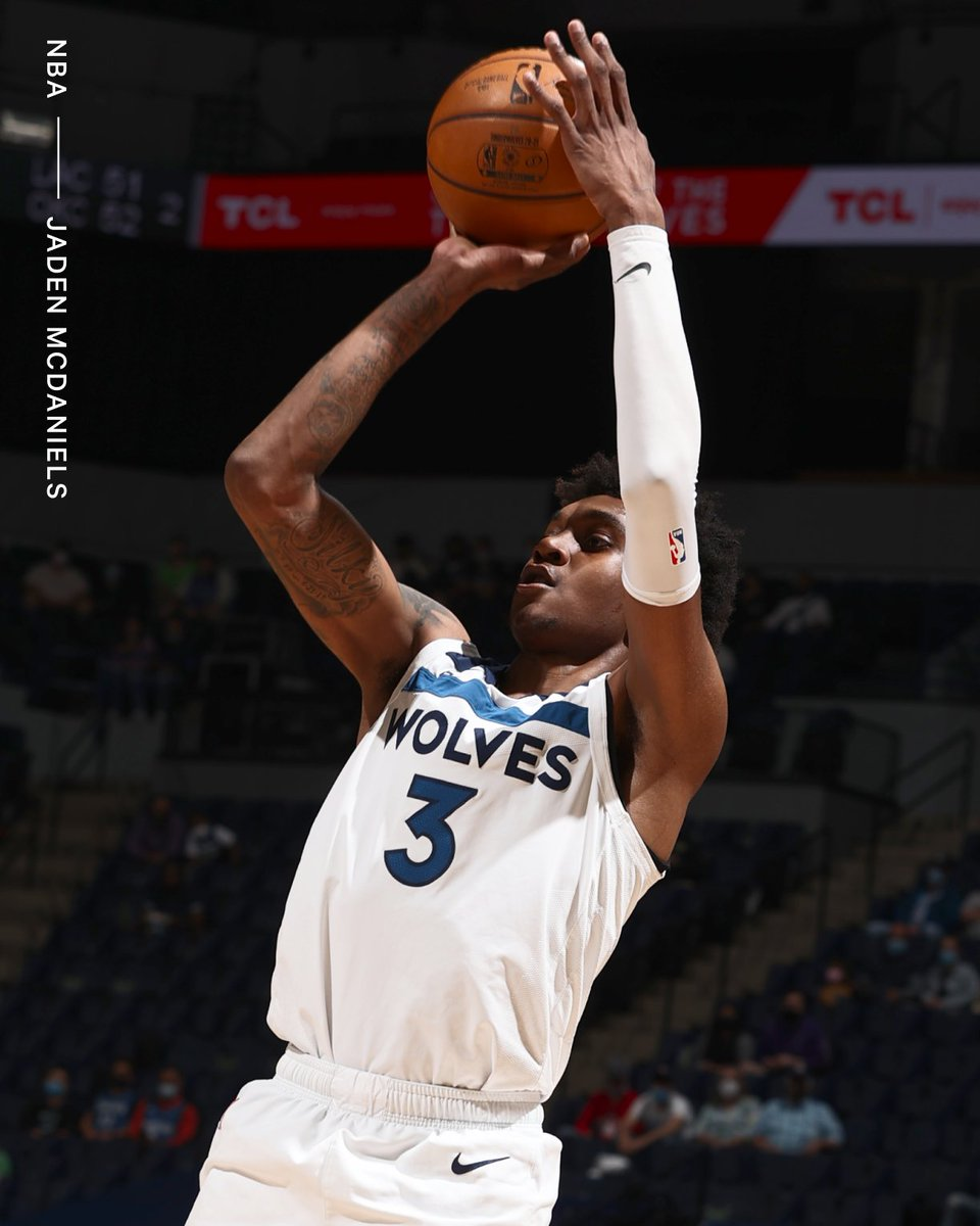 The Timberwolves have picked up third-year rookie scale options on Anthony Edwards and Jaden McDaniels, sources tell @ShamsCharania. ◻️ Edwards: No. 1 pick in 2020 NBA Draft ◻️ McDaniels: No. 28 pick in 2020 NBA Draft Rookie option deadline is Nov. 1.