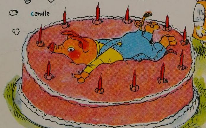 I hope to one day know the pure joy of a pig in a Richard Scarry book