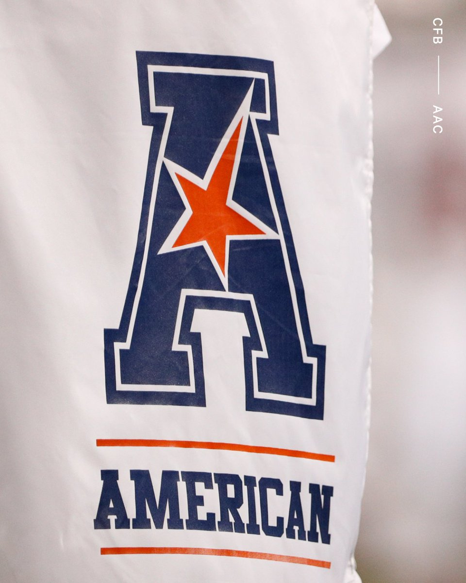 The American Athletic Conference could add six new members as early as this week, first reported by Yahoo Sports and multiple sources confirmed to @ChrisVannini. The six schools expected to apply: ◽️ Charlotte ◽️ FAU ◽️ North Texas ◽️ Rice ◽️ UAB ◽️ UTSA