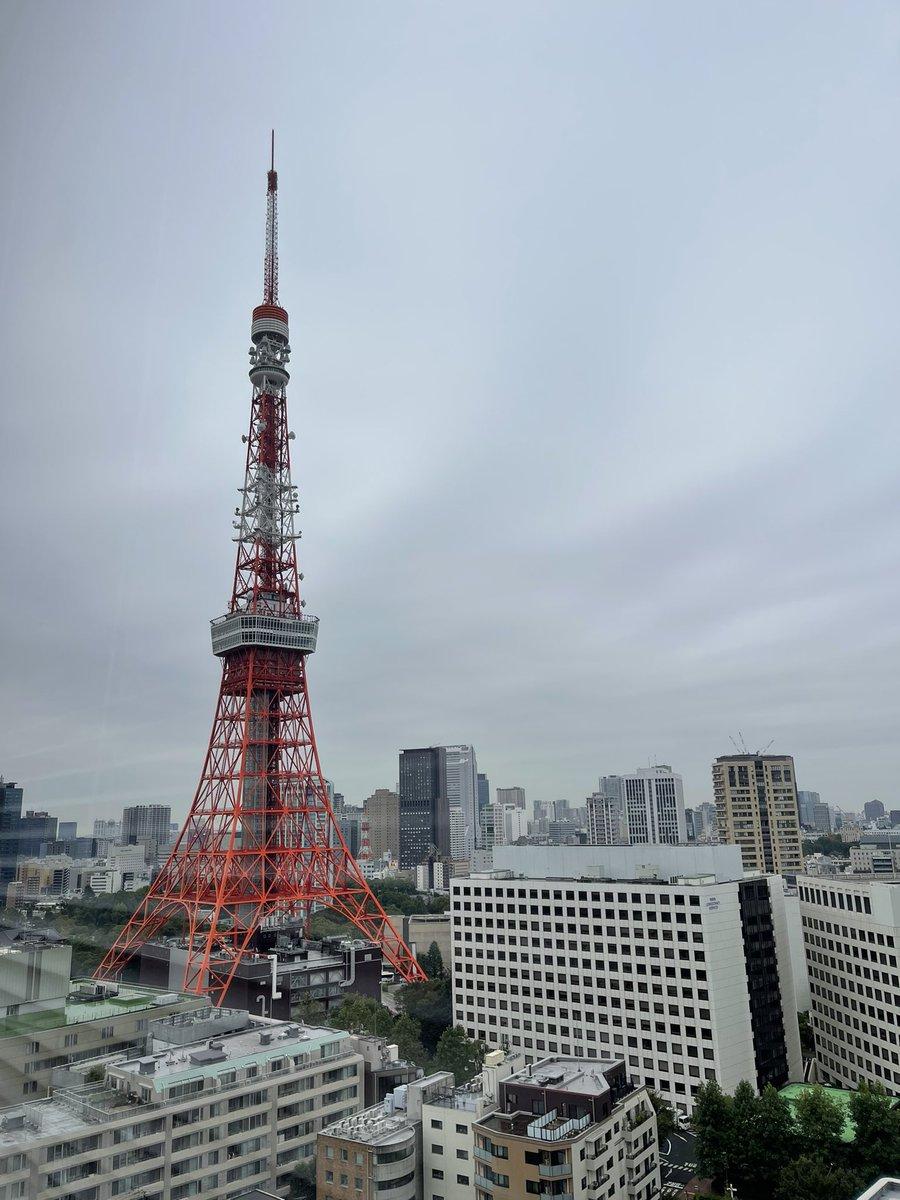 おはようございます☀️港区虎ノ門は小雨☔️採用面接スタート🔥#朝の東京タワー#エンジニア採用#駆け出しエンジニアと繋がりたい#エンジニアと繋がりたい#Twitter転職#エンジニア転職#Java