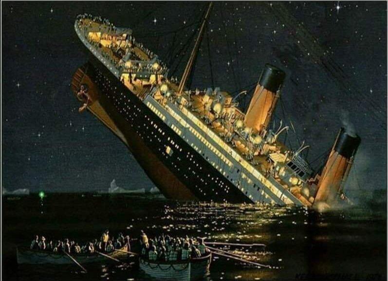 'Ağlayın, ağlayın su yükselsin, Belki kurtulur gemi...'                 Necip Fazıl Kısakürek