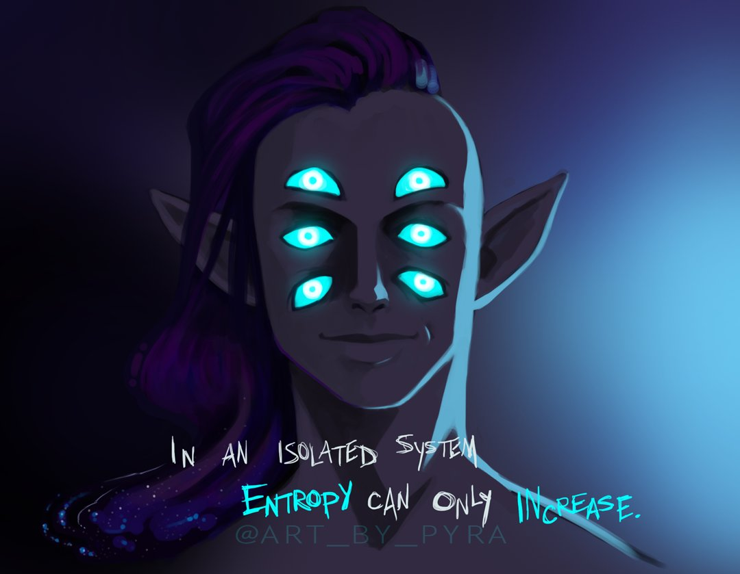 Voidsent + Void Elves = 💜💙💜💙 Just toying with an idea/concept. ;x