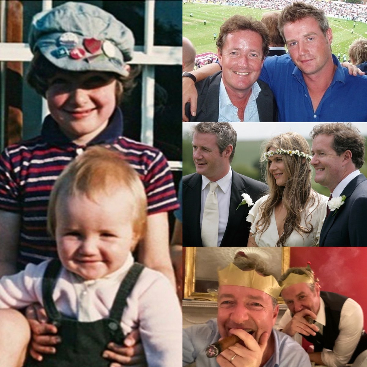 Quite a sobering moment when your 'little bro' turns 50… 😳 .. Congrats on reaching the big half century @RPMorgan2014 - and thanks for being such a ferociously loyal brother. 👍
