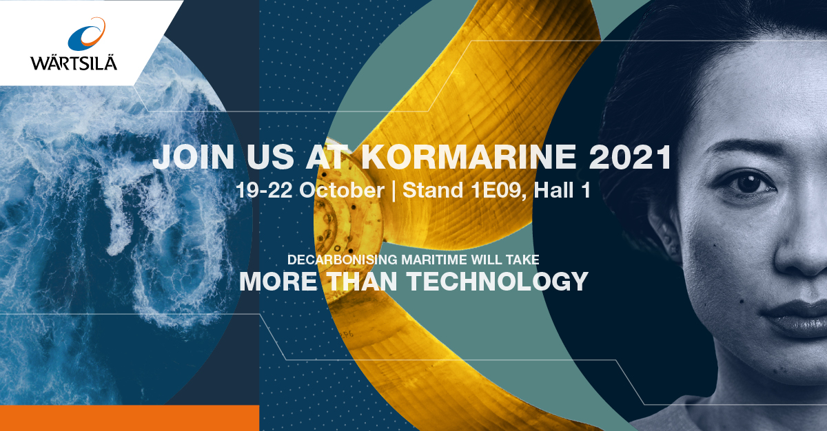 And just like that, we're back! #Kormarine has begun and we are excited to share with visitors our solutions that will help to fast track their decarb journey. Check out our line up or schedule a meeting here: wartsi.ly/3Df7kPr #SouthKorea #Decarbonisation #Decarbonization