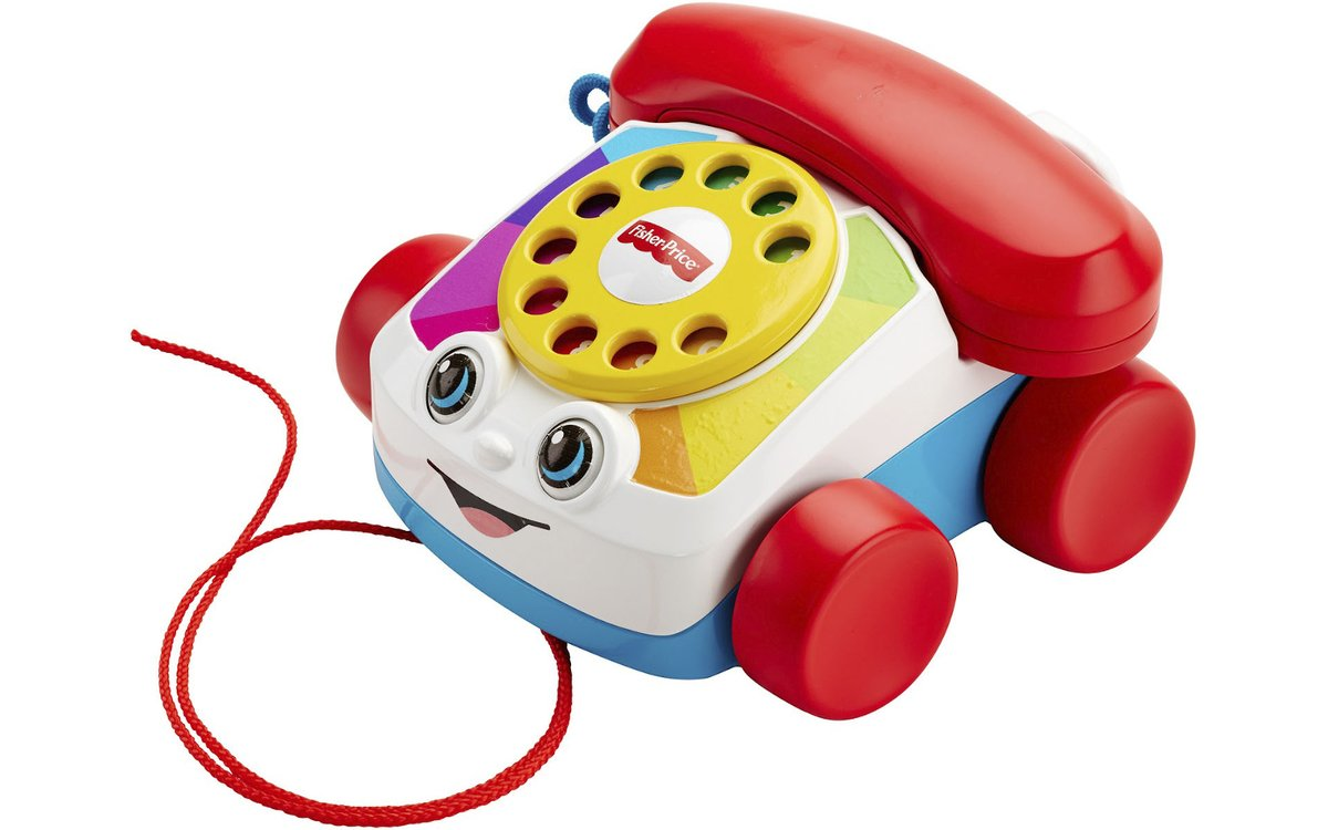 Fisher-Price launches a working Chatter telephone for adults