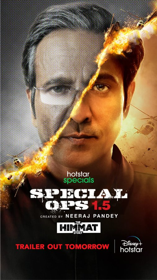 Special Ops 1.5 (2021) Hindi Hotstar Specials Web Series Official Trailer 1080p HDRip Download
