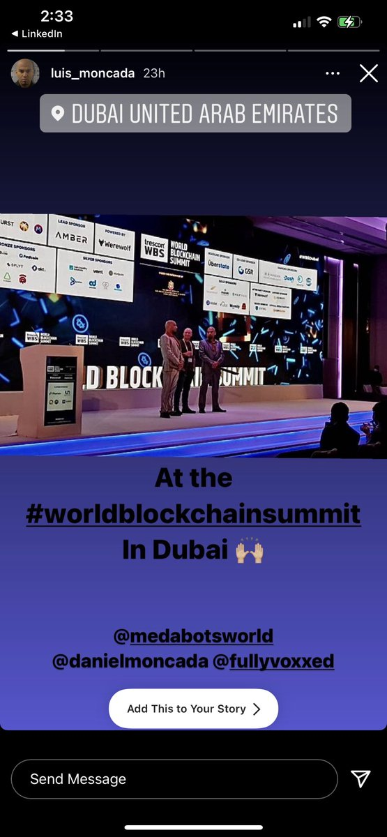 World blockchain summit was great, the homies from Breaking Bad @DanielMoncada80 and @LuisMoncada77 came out and killed it for @MedabotsWorld and @VacayFinance #homies #goodtimes #videogames #gaming #bsc #defi #WBSDubai check out the full video on YouTube youtube.com/watch?v=tDqpvb…