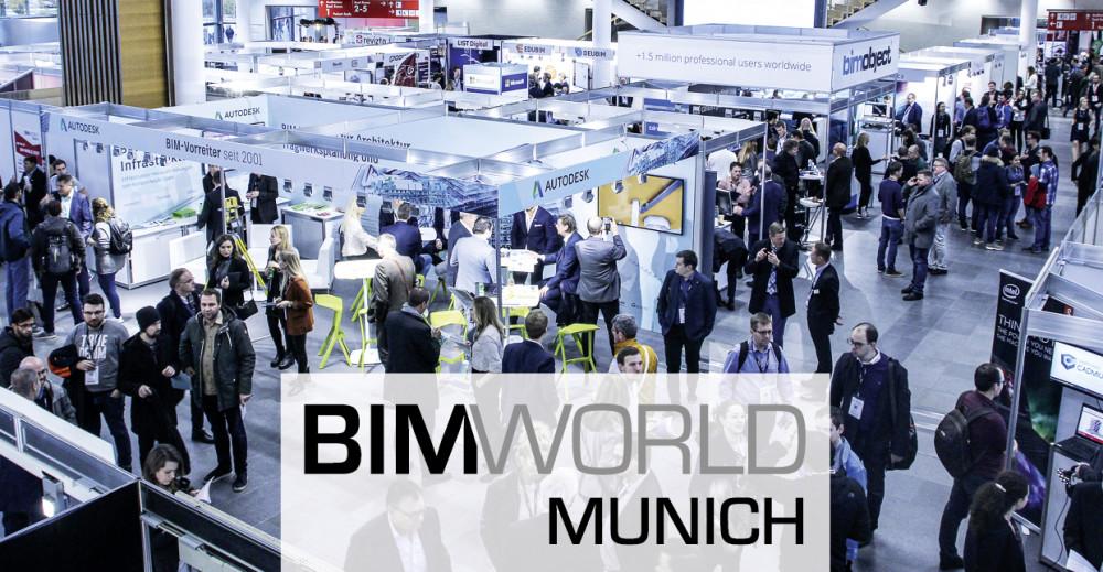 Es geht wieder los: Die BIM World MUNICH Kongress und Fachmesse für Digitalisierung in der Baubranche vom 23. bis 24. November 2021 als reine Präsenzveranstaltung https://t.co/kd9Rsi5KbK https://t.co/wLR9051EOh