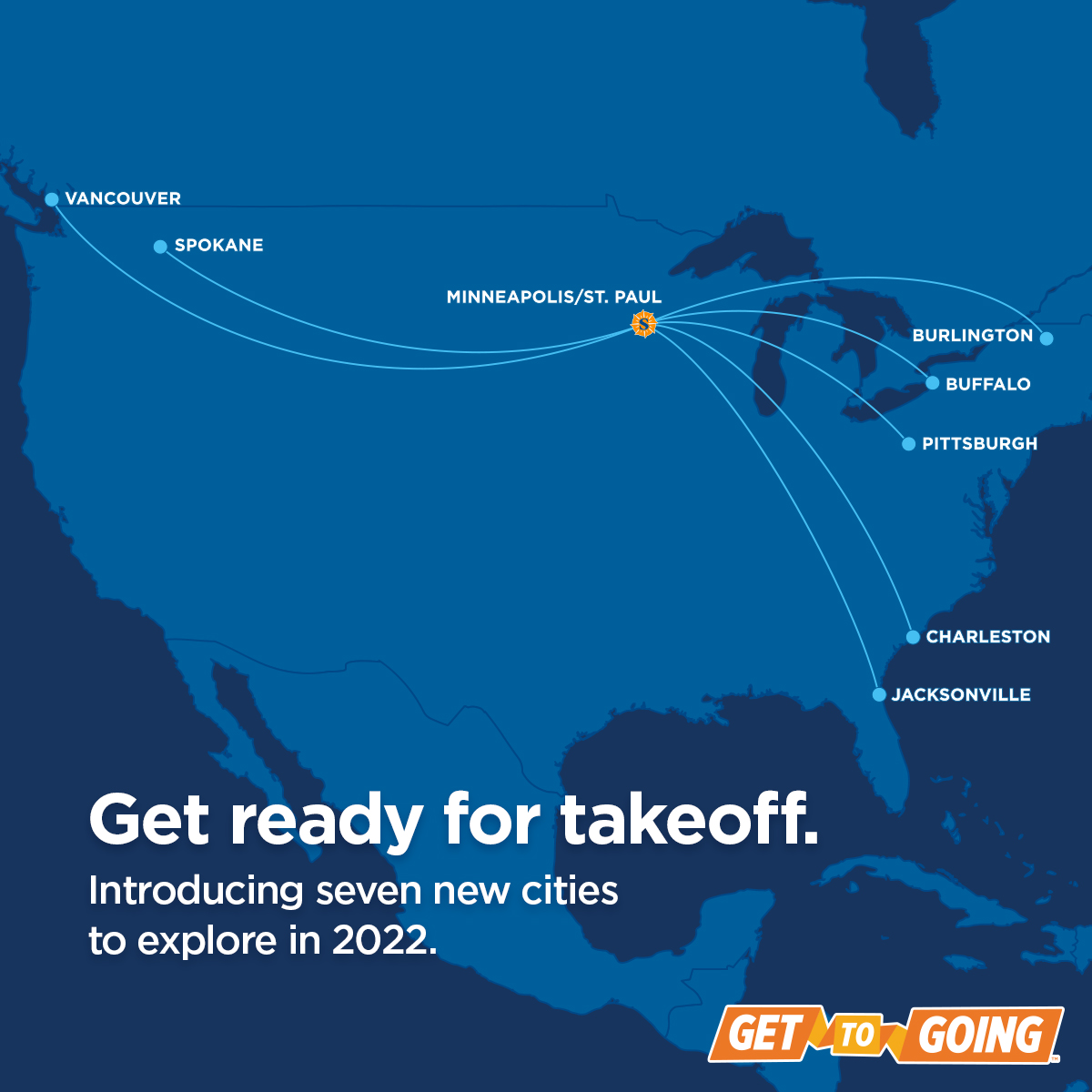 ✈️New Service Announcement! Starting in June 2022, @SunCountryAir will be launching service between Minneapolis (@mspairport) and YVR.
