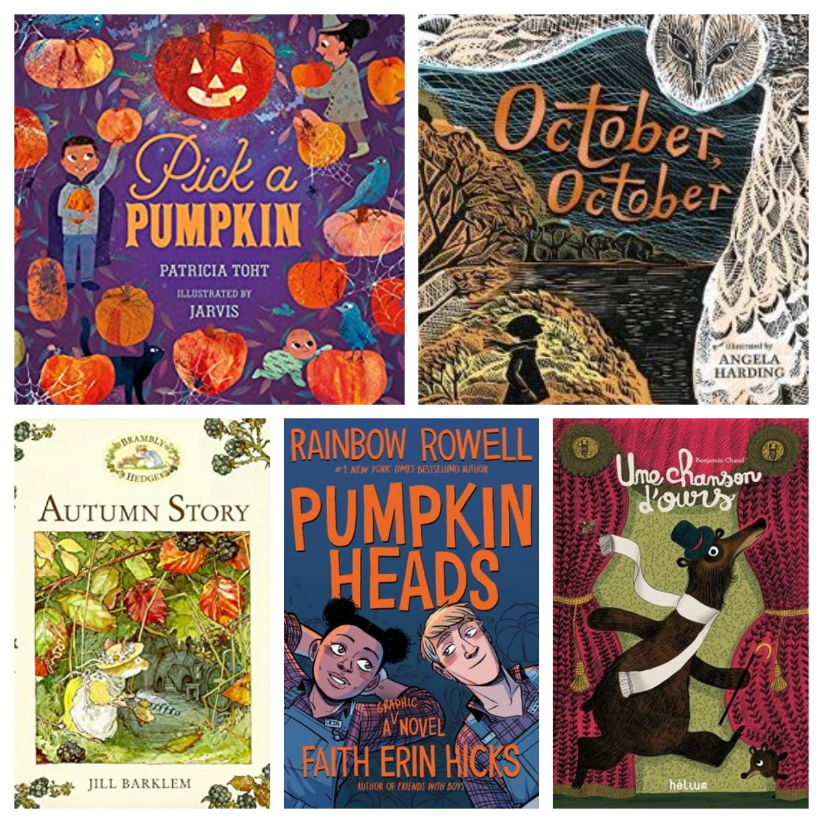 I love reading with the seasons. My autumn selections happen to be all children's and YA titles this time. Reviews on my blog today: https://t.co/i8W2w1fR5S https://t.co/xSxndSSQ2N