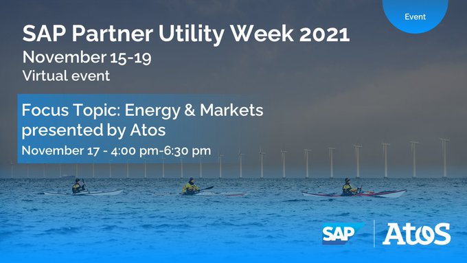 During @SAP Partner Utility Week, Atos will reveal the practices, methods, and technologies...