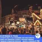Image for the Tweet beginning: Mercatini di Natale in Tirolo 5