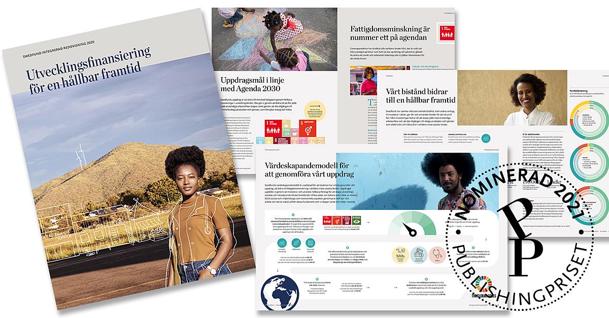Vår IR 2020 är nominerad till #Publishingpriset! Det är ett fantastiskt kvitto för vårt arbete att sprida kunskap om våra resultat och det viktiga arbete vi och våra portföljbolag utför för att bidra till minskad fattigdom och en hållbar utveckling. #utvecklingsfinansiering https://t.co/DVUorhFdE4