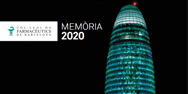 test Twitter Media - 🆕Publicada la Memòria 2020 de @farmaceuticsbcn. 📝Repàs de l'activitat d'un any marcat per la #COVID19 👉 https://t.co/RtKWVcbwhn https://t.co/dzIcGxwWKA