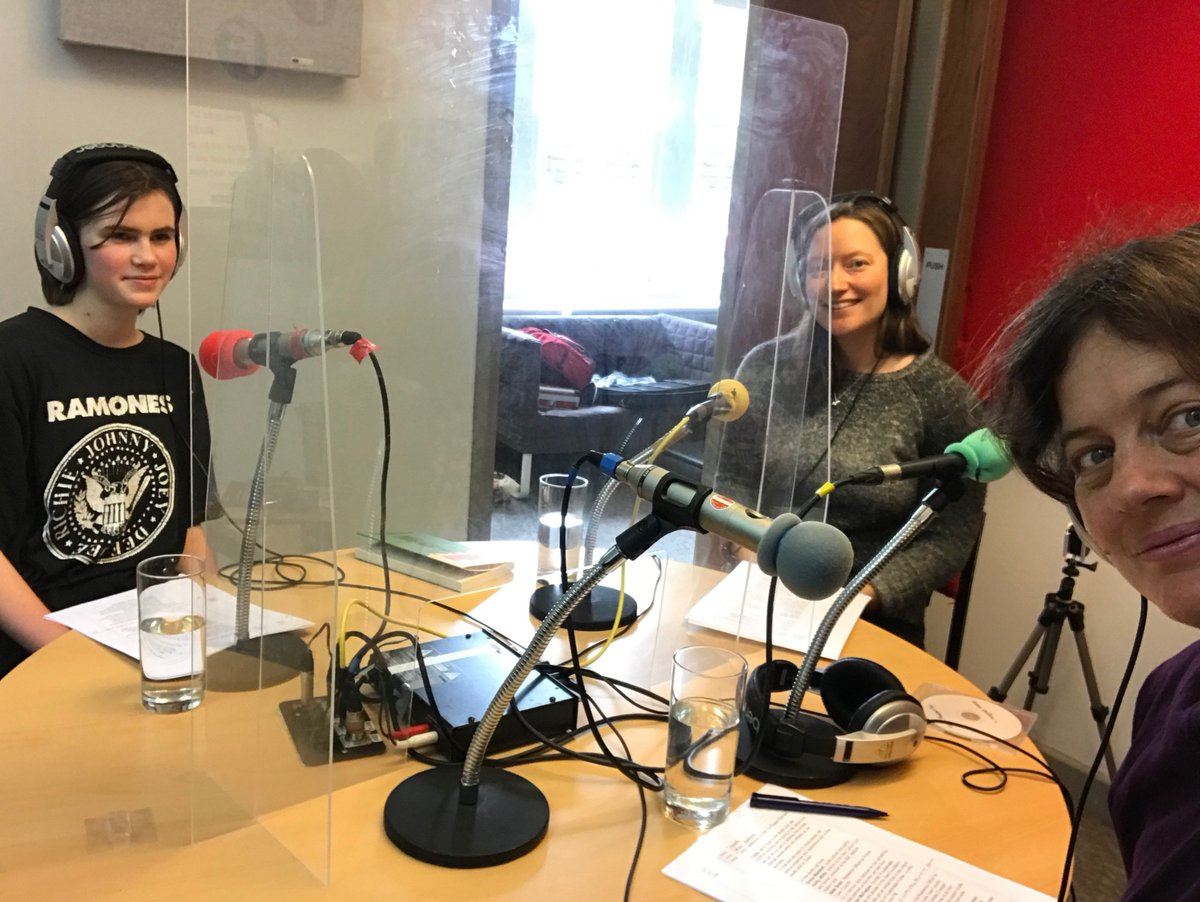 Talking about climate change and how nature can help on @fromefm with @Nikki__Brain and @ElmGrace - tune in now!