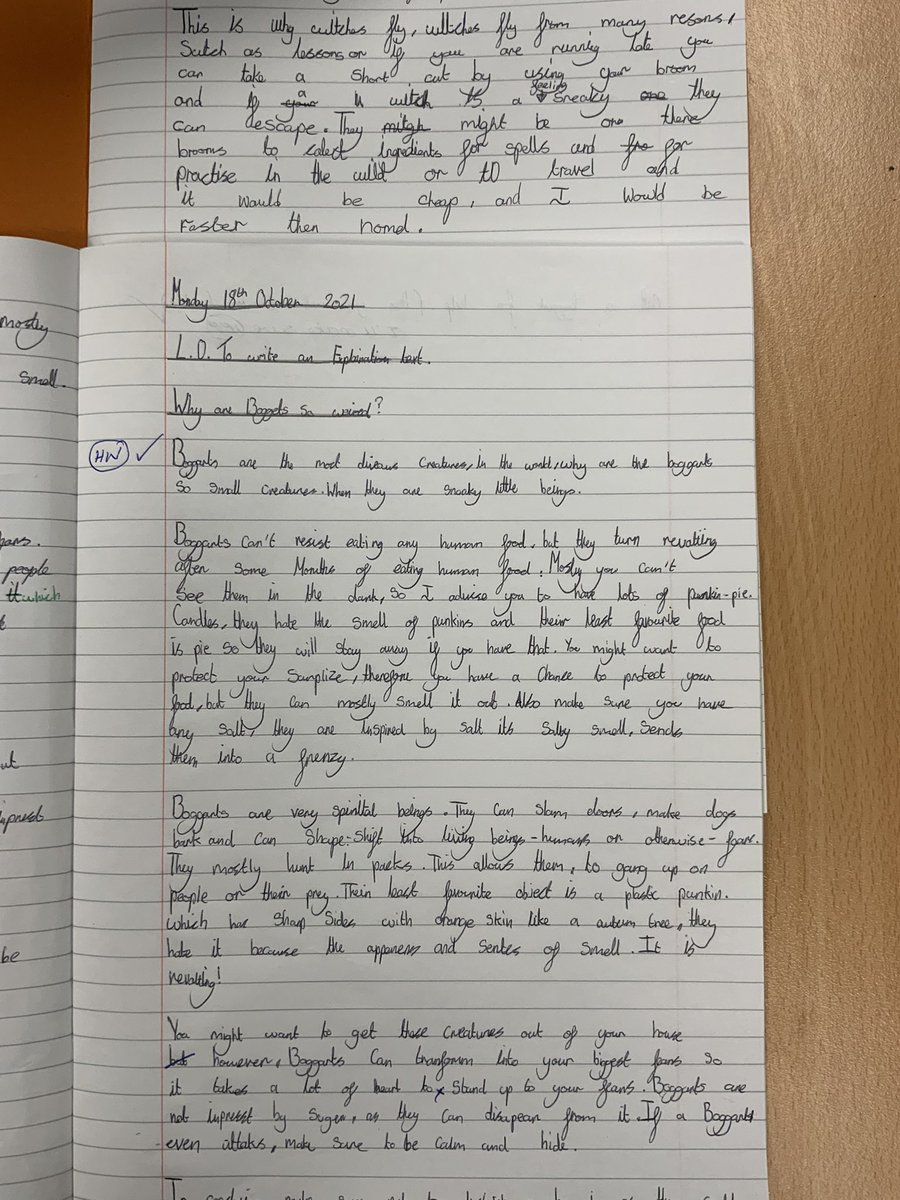 Image for the Tweet beginning: Amazing progress in writing in