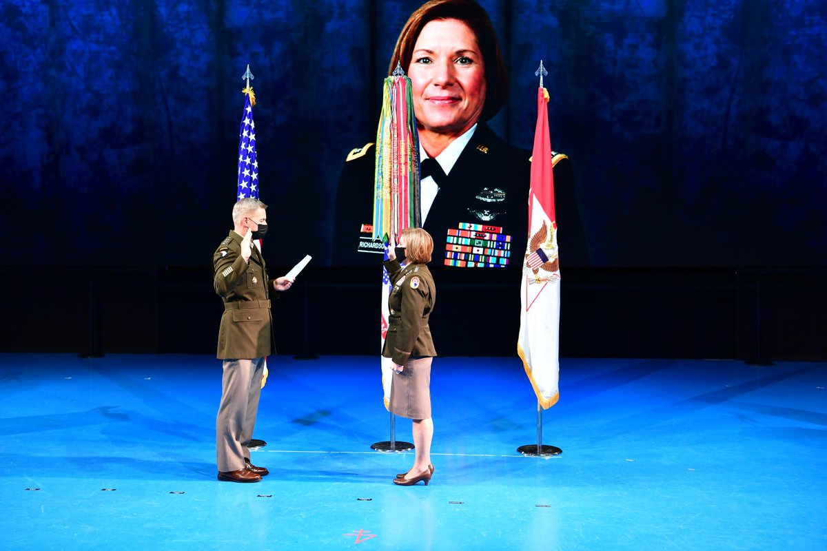 Congratulations to Gen. Laura Richardson on her four-star promotion – she is one of the most impressive and capable officers in uniform today. Her promotion is based on merit and battle-tested capabilities. I know she will be a highly successful combatant commander @Southcom.
