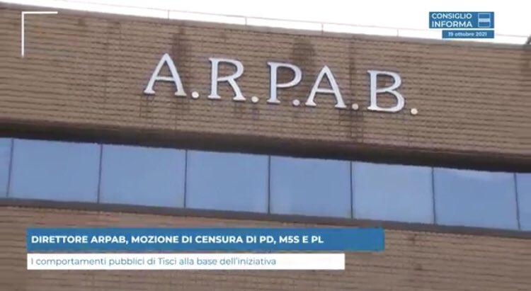 DIRETTORE ARPAB, MOZIONE DI CENSURA DI PD, M5S E P...
