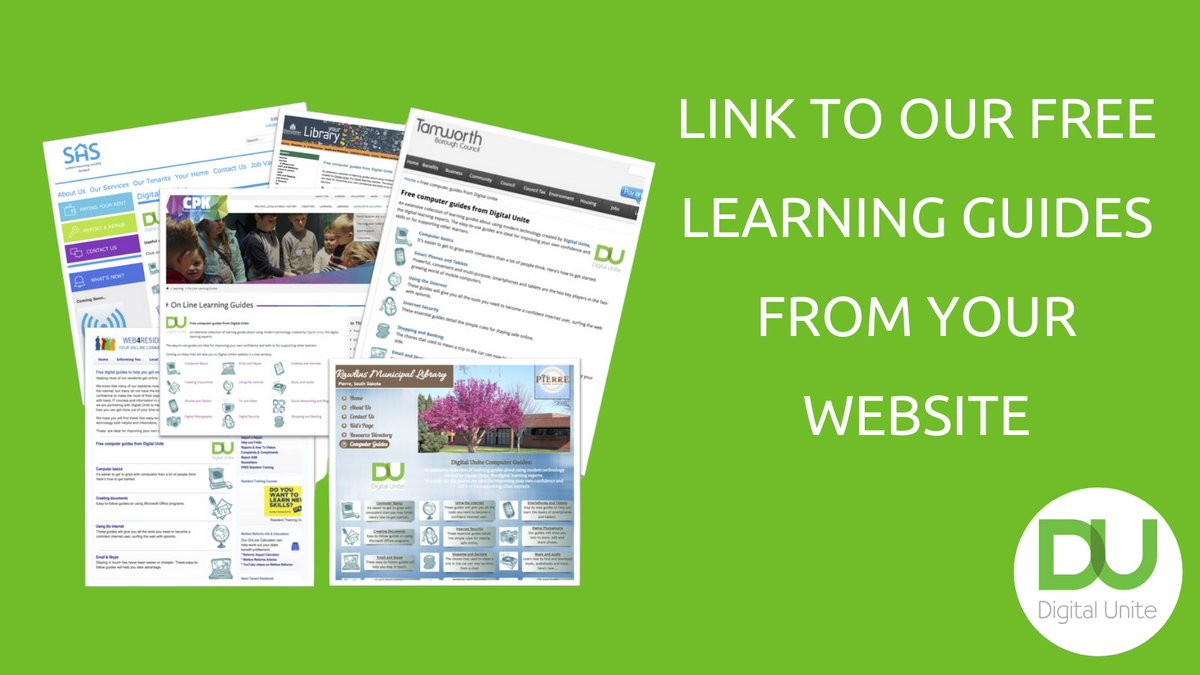 Are you the Secretary of your co-op but struggling with your computer?  It's #GetOnlineWeek - check out the Digital Unite website for help, they have over 400 learning guides!