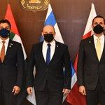 Image for the Tweet beginning: Prime Minister Naftali Bennett met