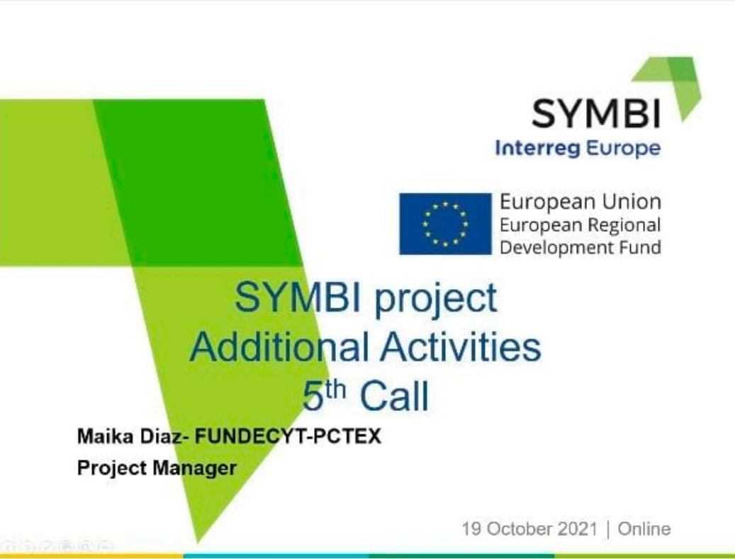 ¡Feeling happy about the continuity of a project as important and necessary as @interregeurope @symbiproject!  #GoCircular #NoPlanetB #IndustrialSymbiosis https://t.co/5cE3yxUM6r