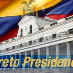 Image for the Tweet beginning: Bien Señor Presidente estado de