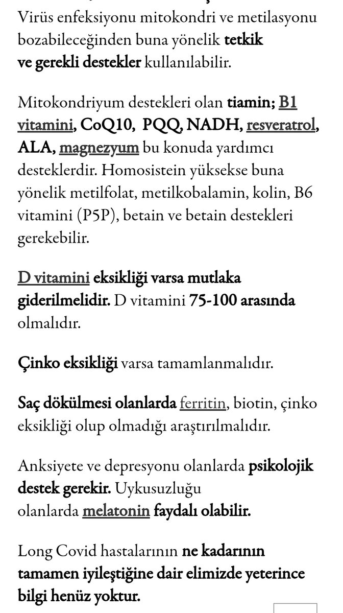 Prof. Dr. Metin Özata ile Long Covid (Uzamış Covid) Üzerine / Tavsiyeleri   livetobloom.com/prof-dr-metin-…